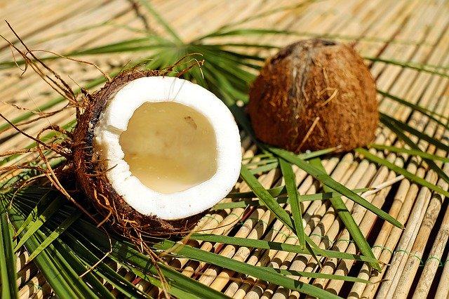 ココナッツの高い保湿力