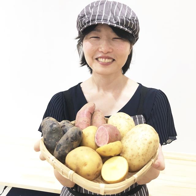 4種類のジャガイモ