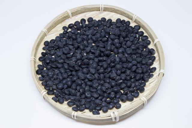 黒豆にはポリフェノールがたっぷり